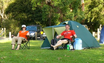 Royal National Park Camping